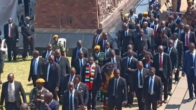 Photo of President Mnangagwa's security aide charged for unlawful farm invasion