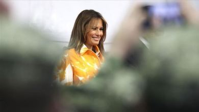 Photo of US first lady cancels campaign rally due to coughing