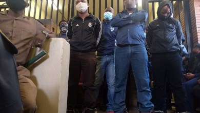 Photo of Senzo Meyiwa murder suspects cause chaos in court