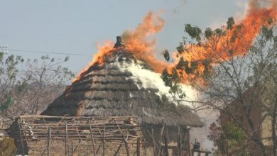Photo of Murehwa murder: Tapiwa Makore Snr's hut gutted by mysterious fire