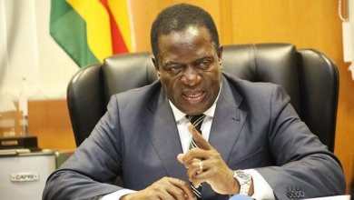 Photo of President Mnangagwa's $20m donation to City of Harare stolen