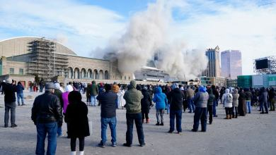 Photo of Americans rejoice as Donald Trump's hotel explodes