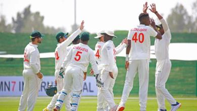 Photo of Zimbabwe fire past Afghanistan in Abu Dhabi Test