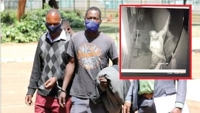 Photo of Harare viral CCTV thieves arrested