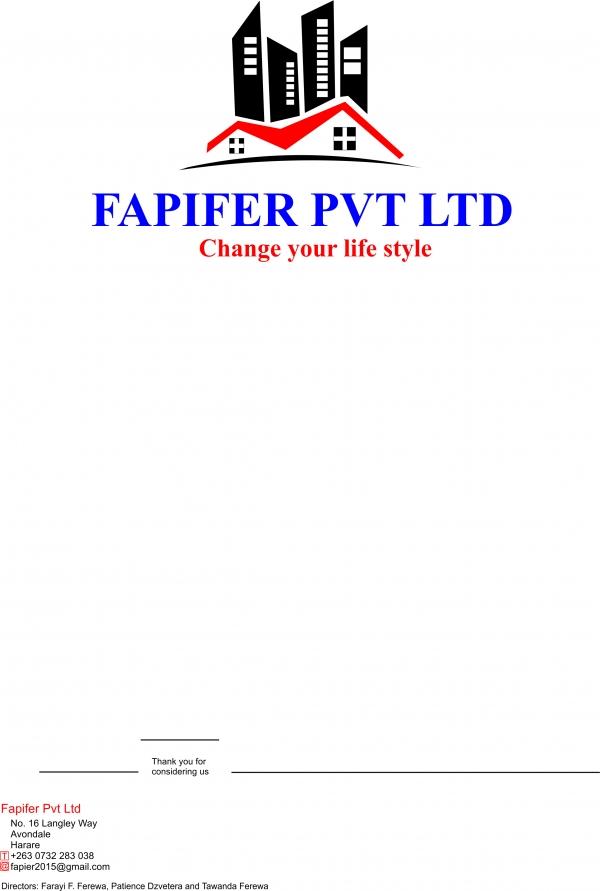 Fapifer construction (pvt) ltd (Kwekwe, Zimbabwe)