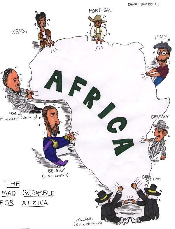 The 'resource grab' and the campaign to keep Africa poor continues.