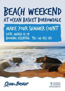 Beach Weekend by Ocean Basket @ Ocean Basket Borrowdale | Harare | Harare Province | Zimbabwe