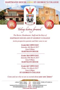 Hartmann House and St Georges Open Days @ Hartmann House, Harare | Harare | Harare Province | Zimbabwe