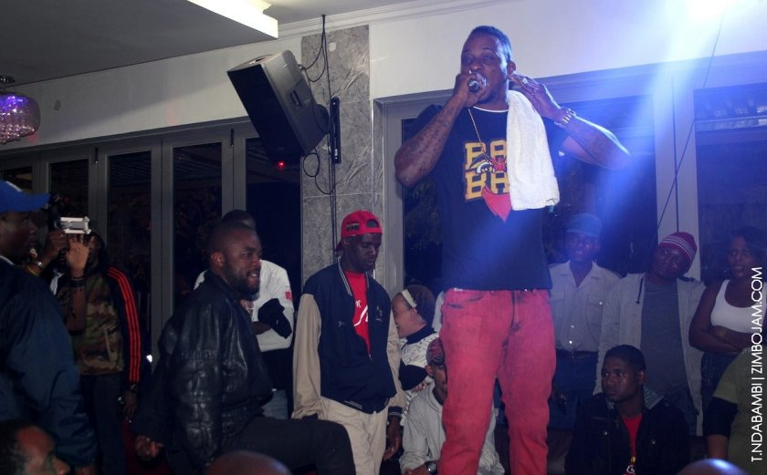 Mega Banton in Kwekwe PIC; T. NDABAMBI | ZIMBOJAM.COM