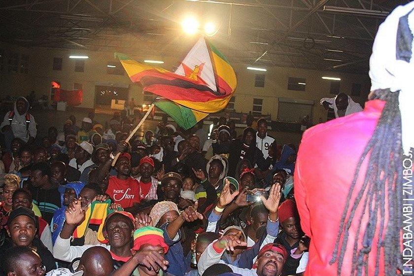 The crowd at the Harare show PIC: T. NDABAMBI   ZIMBOJAM.COM