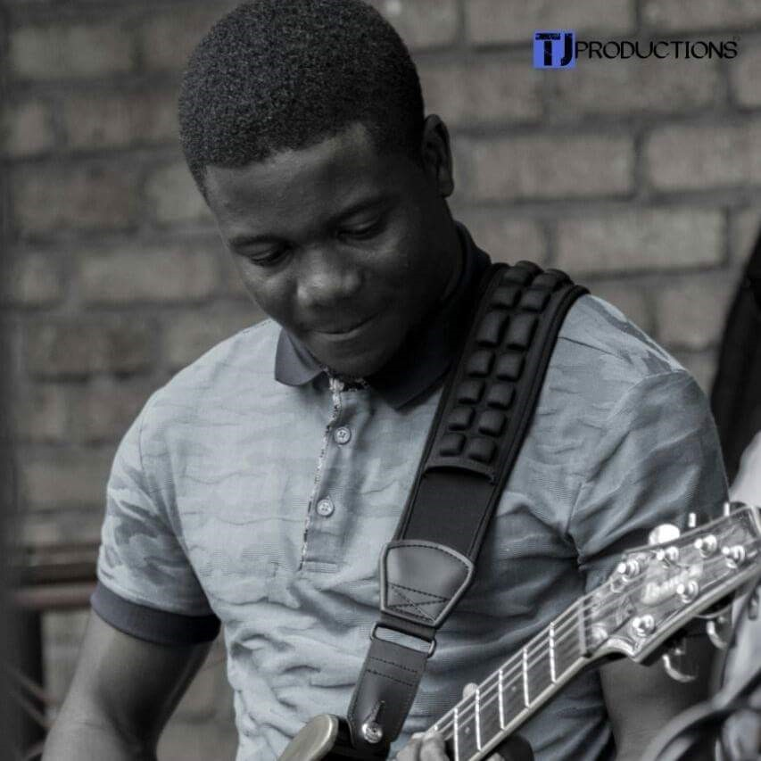 Sweet toned, lead guitarist, Frank Mavhirima PIC: COURTESY OF TJ PRODUCTIONS