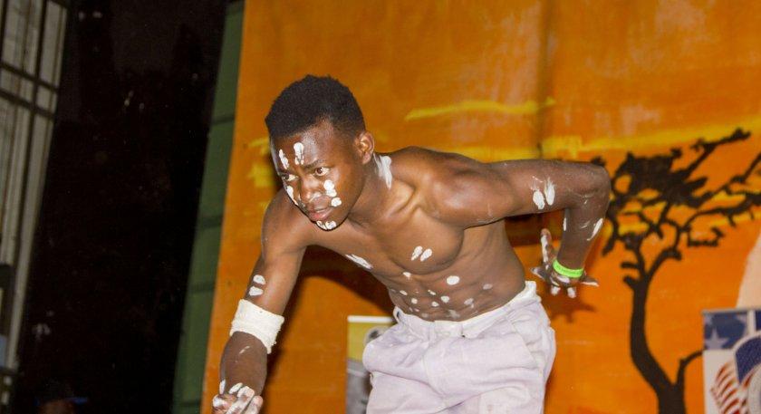 Kudzai Chikowe performing at Jibilika 2016 in Mutare PIC: COURTESY OF JIBILIKA