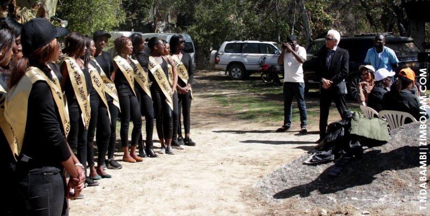 Photo shoot at Eldorado Game Park PIC: T. NDABAMBI | ZIMBOJAM.COM