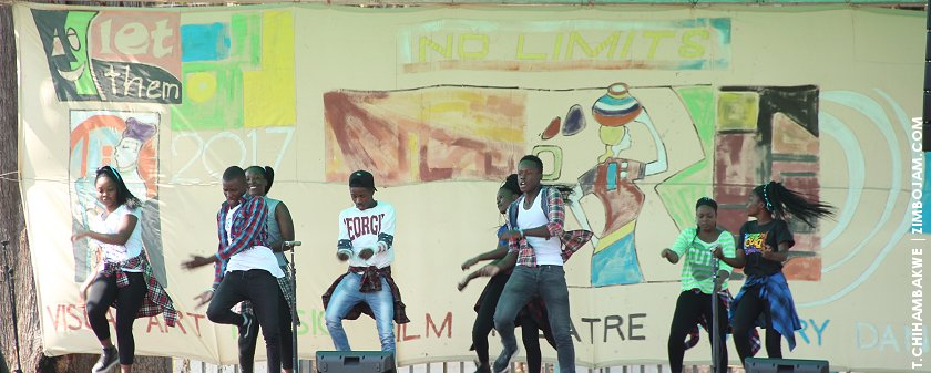 One of the schools staging a dance performance. PIC: T. CHIHAMBAKWE | ZIMBOJAM.COM