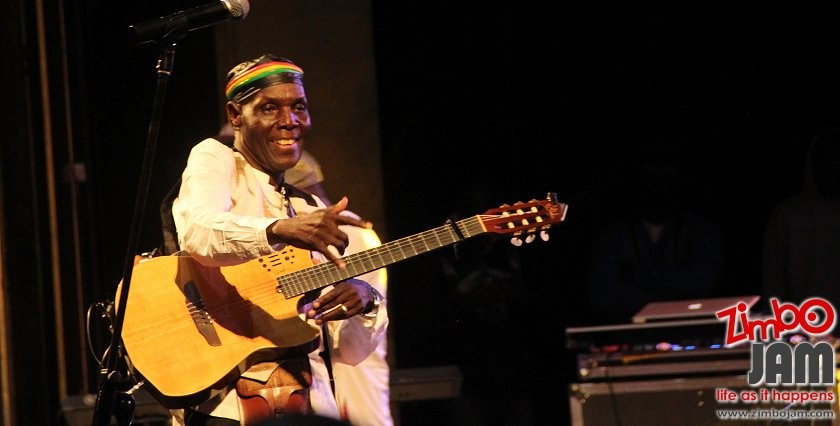 Tuku still rocks at 65. The legend in action at the HICC PIC COURTESY OF ZIMBOJAM