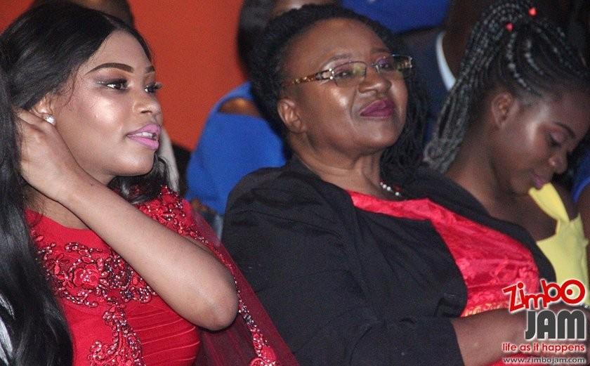 Deyonne and Sunner's mom. PIC: T. CHIHAMBAKWE | ZIMBOJAM.COM