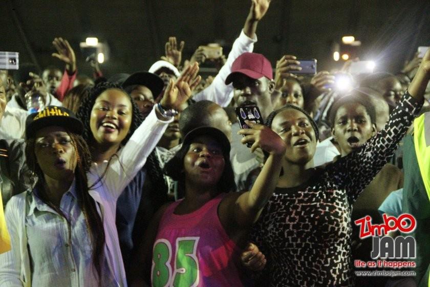 The Crowd at the live DVD recording PIC: T. CHIHAMBAKWE | ZIMBOJAM.COM