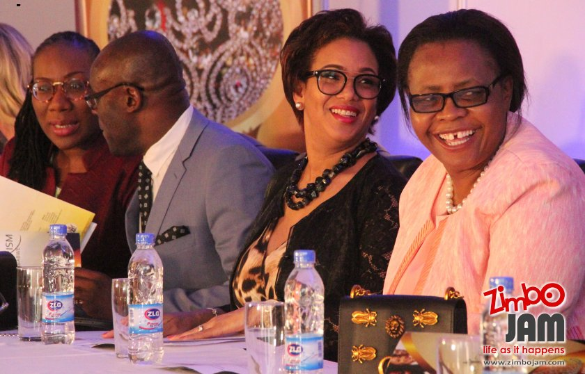 There all smiles at the Miss Tourism Zimbabwe.