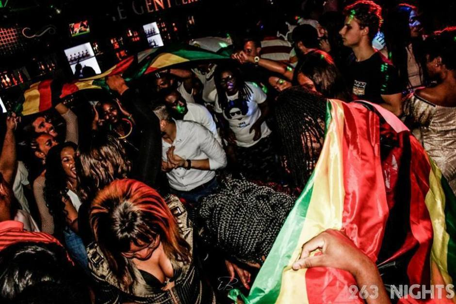 A 263Nights Party in South Africa PIC: COURTESY OR 263NIGHTS