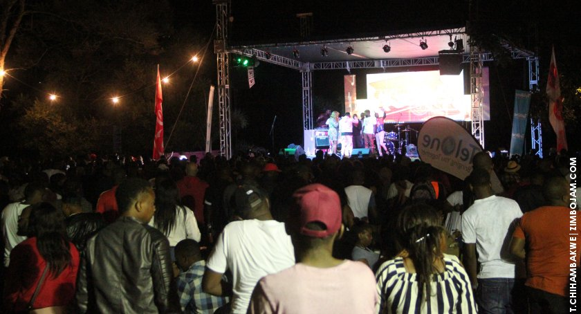 The crowd that attended ExQ's launch at UnPlugged over the weekend. PIC: T. CHIHAMBAKWE | ZIMBOJAM.COM