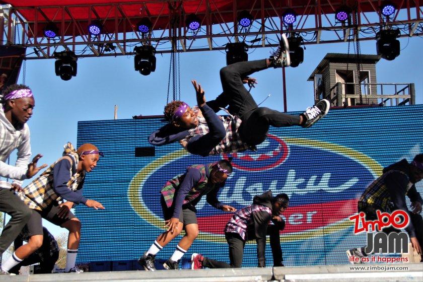 Forgotten Tribe dance group in action. PIC: T. CHIHAMBAKWE | ZIMBOJAM.COM