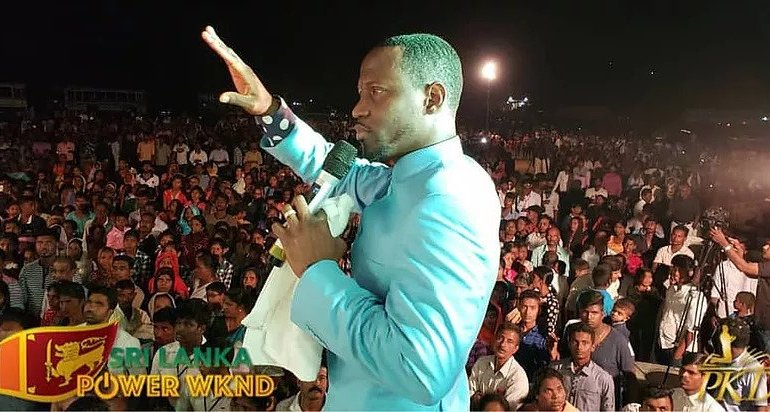 Prophet Kofi Danso visits Sri Lanka for 'Sri Lanka Power Weekend 2019'