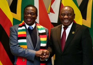 South Africa calls for lifting of sanctions on Zimbabwe