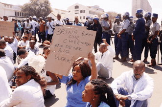 Zimbabwe doctors defy government ultimatum to end strike