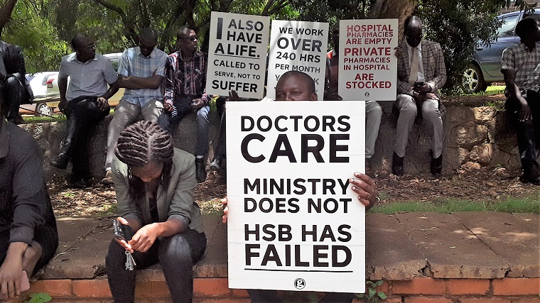 Mnangagwa tells striking doctors we should sit down and talk while you are at work