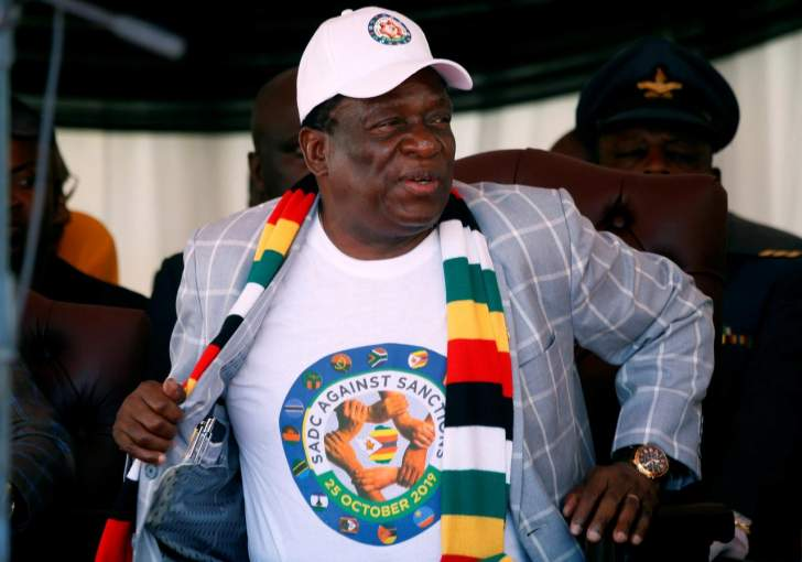Mnangagwa vows to block white looters