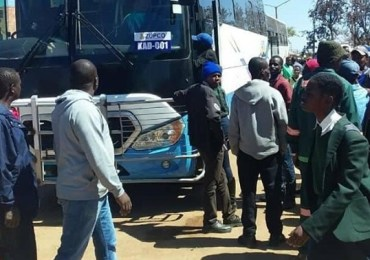 Zupco buses for returning students