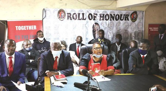 Factions rocks MDC-T ahead of congress