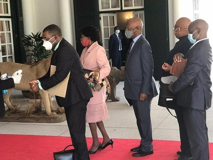 S.A envoys will return soon to meet with Khupe, Chamisa and others