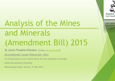 Calls for the repeal of Mines and Minerals Amendment Bill