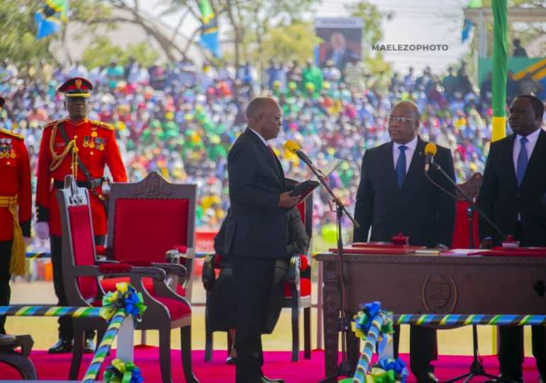 Tanzania's President sworn in