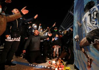 Argentina mourns as Maradona's coffin reaches presidential palace