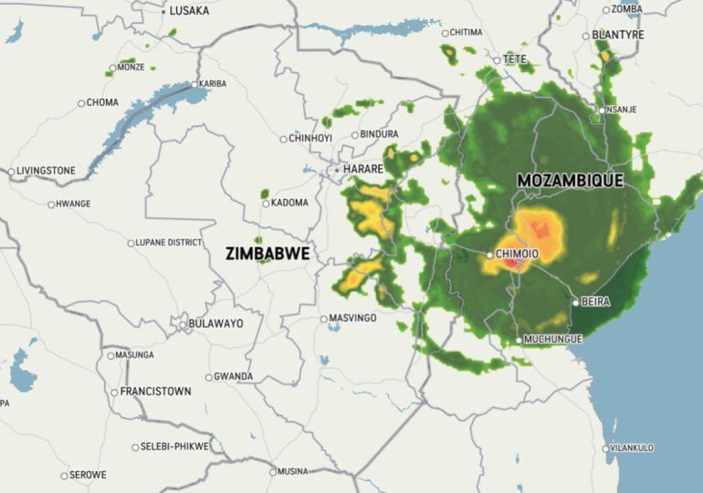 Zimbabwe braces for impact as weakening Chalane sweeps in