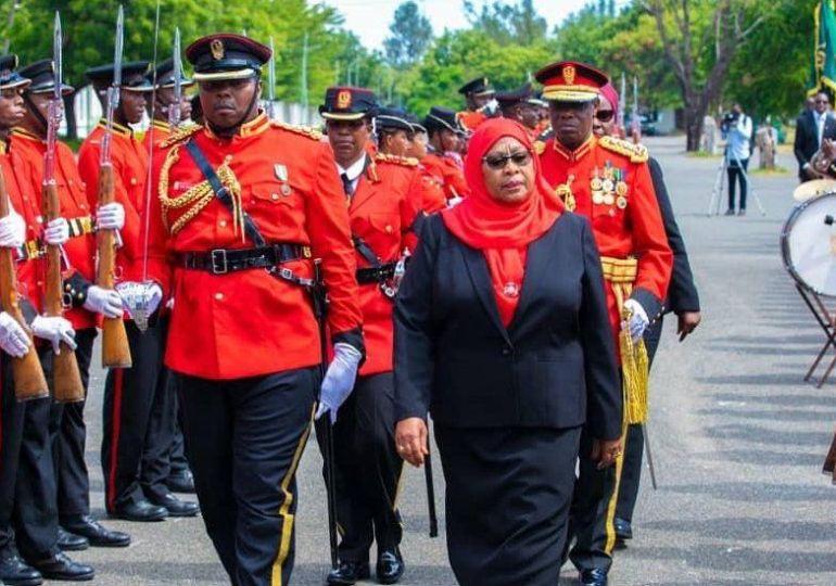 Samia Suluhu Hassan - Tanzania's new president