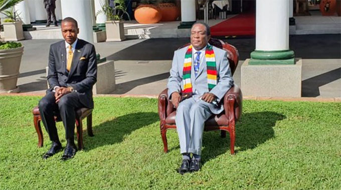 Mnangagwa appoints Prophet Angel