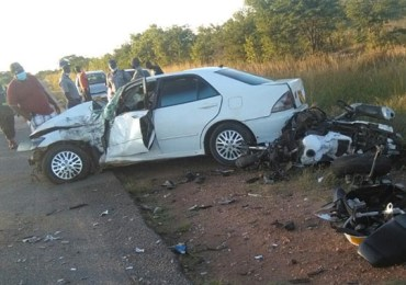 Police clears air on Chinhoyi road accident . . . First Lady's convoy not involved