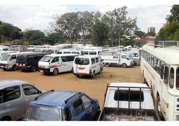 Pupils stranded as police impound vehicles