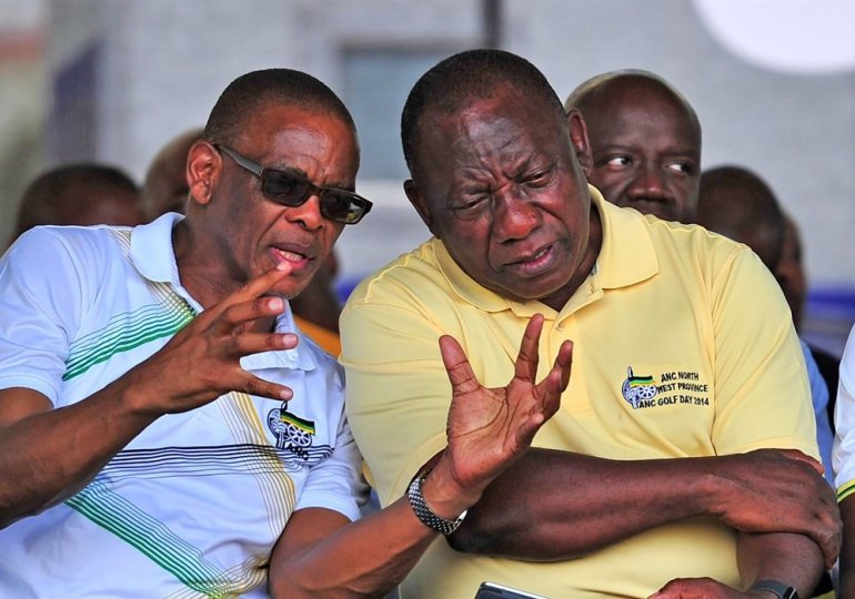 Defiant Ace Magashule 'suspends' Ramaphosa as ANC president