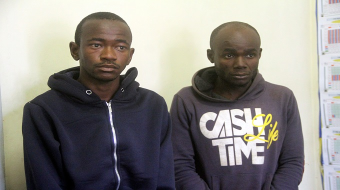 Police arrest suspected armed robbers