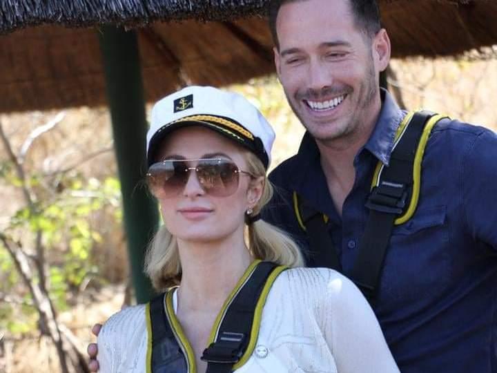 US Singer, Actress Paris Hilton Visits Zimbabwe