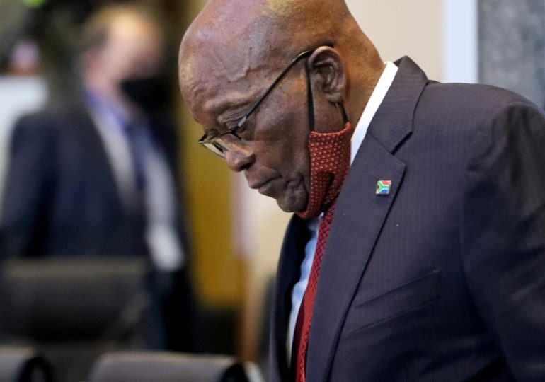South Africa court gives ex-leader Zuma 15 months jail for snubbing inquiry