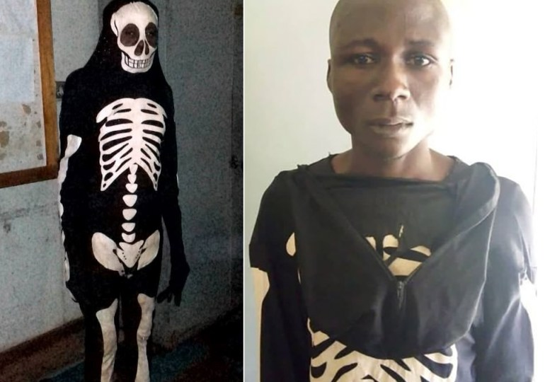 Robber who terrified victims with skeleton costume and mask jailed
