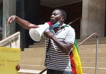 British Government expresses concern over Makomborero Haruzivishe's incarceration