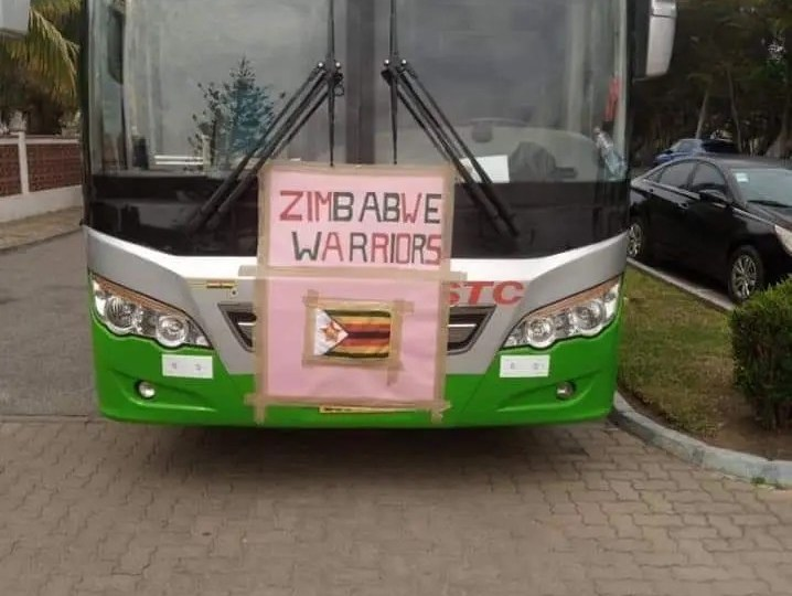 Warriors' Bus Branding In Ghana Sparks Mixed Reactions On Social Media