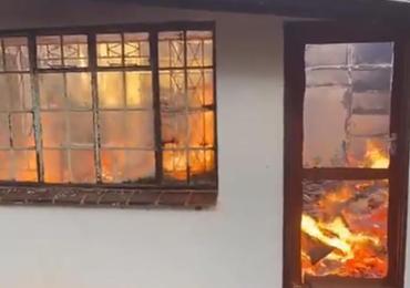 Chinamasa's Borrowdale House Burns Down