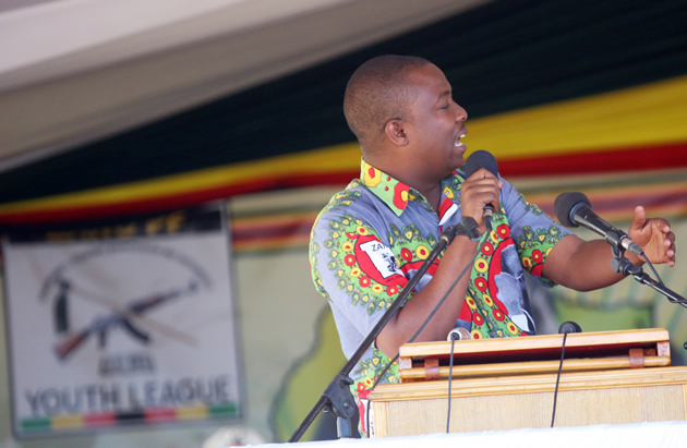 GIVE US FARMS :ZANU PF YOUTHS